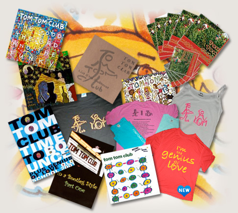 Tom Tom Club Shop